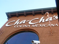 Lunch at Cha Cha's
