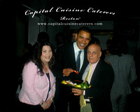 Beth & Louie with Barack Obama